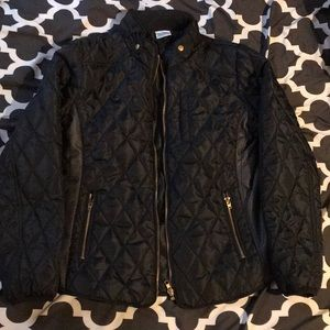 Girls black fall jacket
